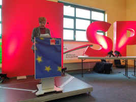 Die Kreisvorsitzende Anita Peffgen-Dreikorn ließ in ihrem Rechenschaftsbericht die Aktivitäten seit der letzten Vorstandswahl Ende 2017 Revue passieren
