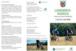 Flyer zum Landkreisradeln 2020
