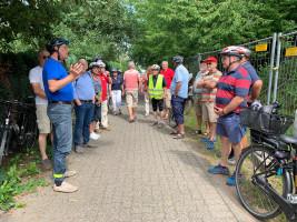 Erläuterungen von Fraktionssprecher Wolfgang Jehn zur Mainbrücke zwischen Mainaschaff und Kleinostheim