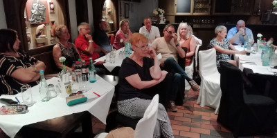 Kommunalpolitisches Arbeitsfrühstück der SPD Landkreis Aschaffenburg am 31.08.19 in Stockstadt