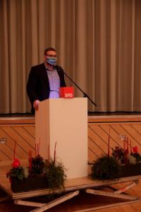 Aufstellungskonferenz des SPD Unterbezirks Aschaffenburg in Mainaschaff zur Bundestagswahl 2021 (Foto: Roland Leitz)