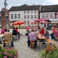 Basisdemokratie auf dem Großostheimer Marktplatz