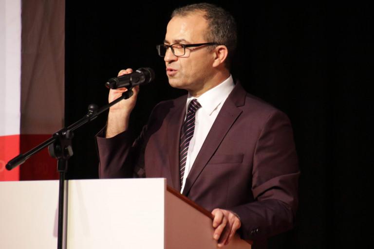 Landratskandidat Özcan Pancarci beim Neujahrsempfang der Landkreis SPD am 19.01.2020 in Kahl am Main