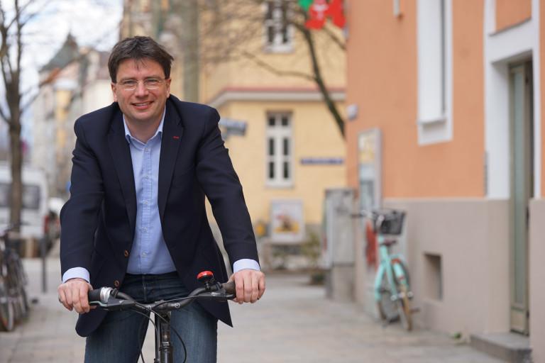 Gastredner beim diesjährigen Kommunalpolitischen Frühstück: Florian von Brunn, Sprecher der SPD-Landtagsfraktion für den Bereich Umwelt und Verbraucherschutz